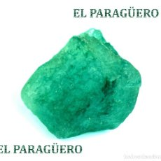 Coleccionismo de minerales: ESMERALDA EN BRUTO DE 37,30 KILATES CON CERTIFICADO AGI - MEDIDA 2,0 X 1,8 X 1,3 CENTIMETROS Nº1. Lote 191944078