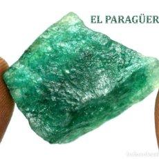 Coleccionismo de minerales: ESMERALDA EN BRUTO DE 59,55 KILATES CON CERTIFICADO AGI - MEDIDA 2,8 X 1,9 X 1,6 CENTIMETROS Nº4. Lote 191944150