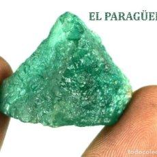 Coleccionismo de minerales: ESMERALDA EN BRUTO DE 50,85 KILATES CON CERTIFICADO AGI - MEDIDA 2,3 X 2,0 X 1,8 CENTIMETROS Nº5. Lote 191944168