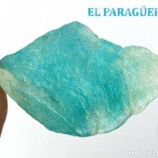 Coleccionismo de minerales: AGUAMARINA EN BRUTO DE 46,65 KILATES CON CERTIFICADO AGI - MEDIDA 3,8 X 2,2 X 1,2 CENTIMETROS Nº4. Lote 192347223