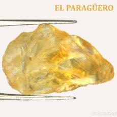 Coleccionismo de minerales: TURMALINA EN BRUTO DE 12,50 KILATES CON CERTIFICADO AGI - MIDE 2,1 X 1,2 X 0,9 CENTIMETROS Nº1. Lote 192353841
