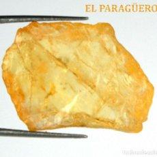 Coleccionismo de minerales: TURMALINA EN BRUTO DE 20,25 KILATES CON CERTIFICADO AGI - MIDE 2,4 X 1,7 X 0,6 CENTIMETROS Nº2. Lote 192354127