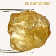 Coleccionismo de minerales: TURMALINA EN BRUTO DE 22,40 KILATES CON CERTIFICADO AGI - MIDE 2,0 X 1,9 X 0,9 CENTIMETROS Nº3. Lote 192354382