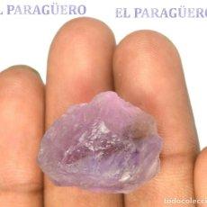 Coleccionismo de minerales: EMETRINO EN BRUTO DE 39,30 KILATES CON CERTIFICADO AGI - MIDE 2,4 X 2,0 X 1,3 CENTIMETROS Nº1. Lote 192355150