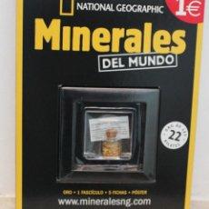 Coleccionismo de minerales: ORO - MINERALES DEL MUNDO. Nº 1 DE LA COLECCIÓN. Lote 261161005