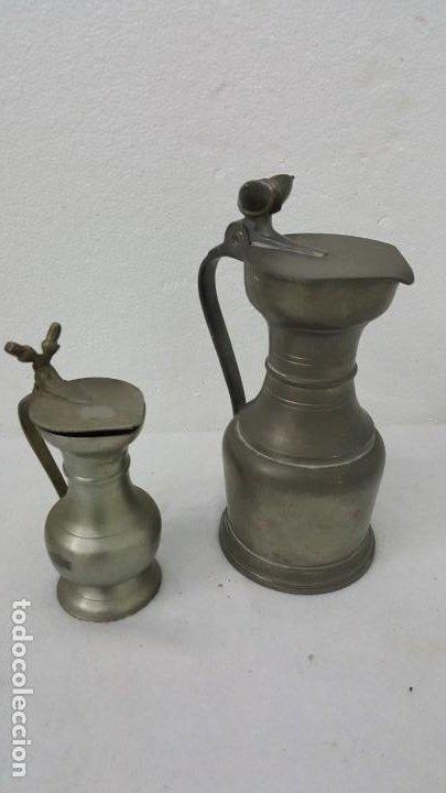 Coleccionismo de minerales: JARRAS DE VINO DE ESTAÑO - Foto 2 - 192524303