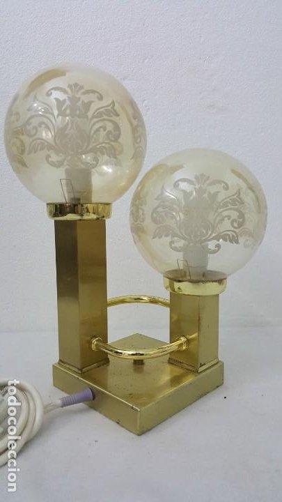 LAMPARA ART DECO (Coleccionismo - Mineralogía - Otros)