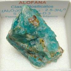 Coleccionismo de minerales: ALOFANA. Lote 194632766
