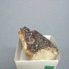 Coleccionismo de minerales: SMITHSONITA - MINERAL. EN CAJA 4X4 CM. Lote 194702883