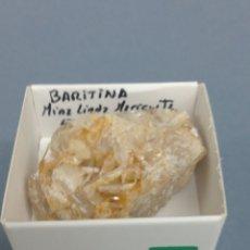 Coleccionismo de minerales: BARITINA - MINERAL. EN CAJA 4X4 CM. Lote 194703437