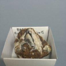 Coleccionismo de minerales: BARITINA - MINERAL. EN CAJA 4X4 CM. Lote 194720352