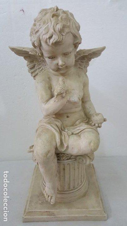 ESCULTURA ANGEL (Coleccionismo - Mineralogía - Otros)