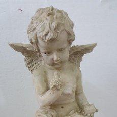Coleccionismo de minerales: ESCULTURA ANGEL. Lote 194906166