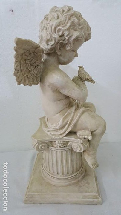 Coleccionismo de minerales: ESCULTURA ANGEL - Foto 4 - 194906166