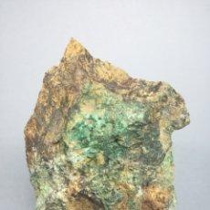 Coleccionismo de minerales: MALAQUITA+CALCOPIRITA - MINERAL. LM1. Lote 194922621