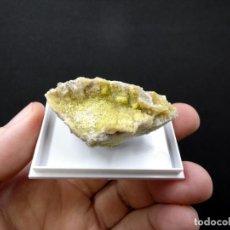 Coleccionismo de minerales: FD MINERALES: TYUYAMUNITA - POISON CANYON MINE - NUEVO MÉXICO - USA - ER 220. Lote 195041905