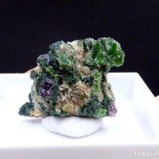 Coleccionismo de minerales: FD MINERALES: PIROPO Y CROMODIOPSIDO - AHEIM - VANYLVEN - NORUEGA - ER 274. Lote 195057931