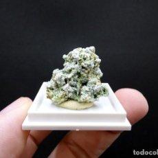Coleccionismo de minerales: FD MINERALES: ALBITA, EPIDOTA Y ACTINOLITA - CANTERA JUANONA - MÁLAGA - ESPAÑA - ER 277. Lote 195058028