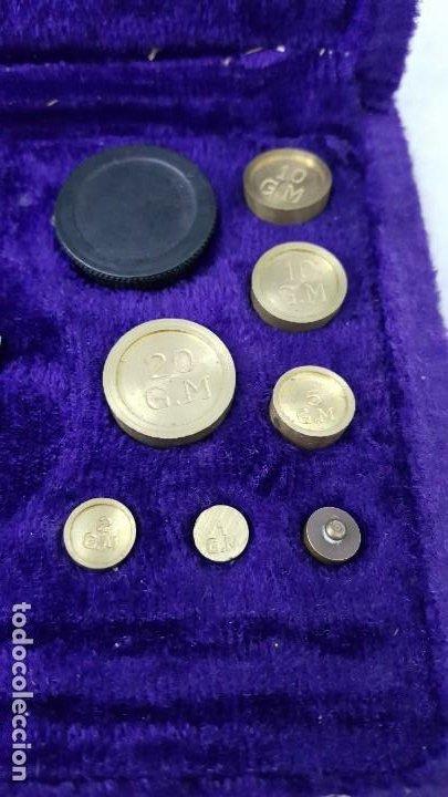 Coleccionismo de minerales: BALANZA 50 GRAMOS - Foto 4 - 195150510