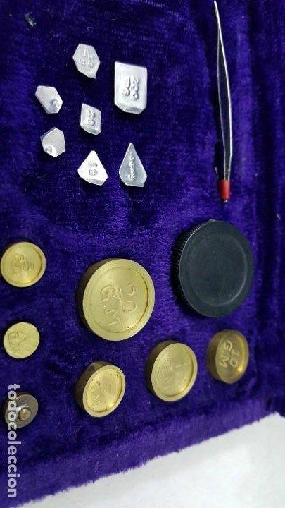 Coleccionismo de minerales: BALANZA 50 GRAMOS - Foto 5 - 195150510