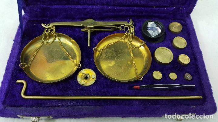 Coleccionismo de minerales: BALANZA 50 GRAMOS - Foto 7 - 195150510