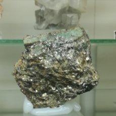 Coleccionismo de minerales: BERILO (ESMERALDA) + MICA (FLOGOPITA) - MINERAL. Lote 195604383