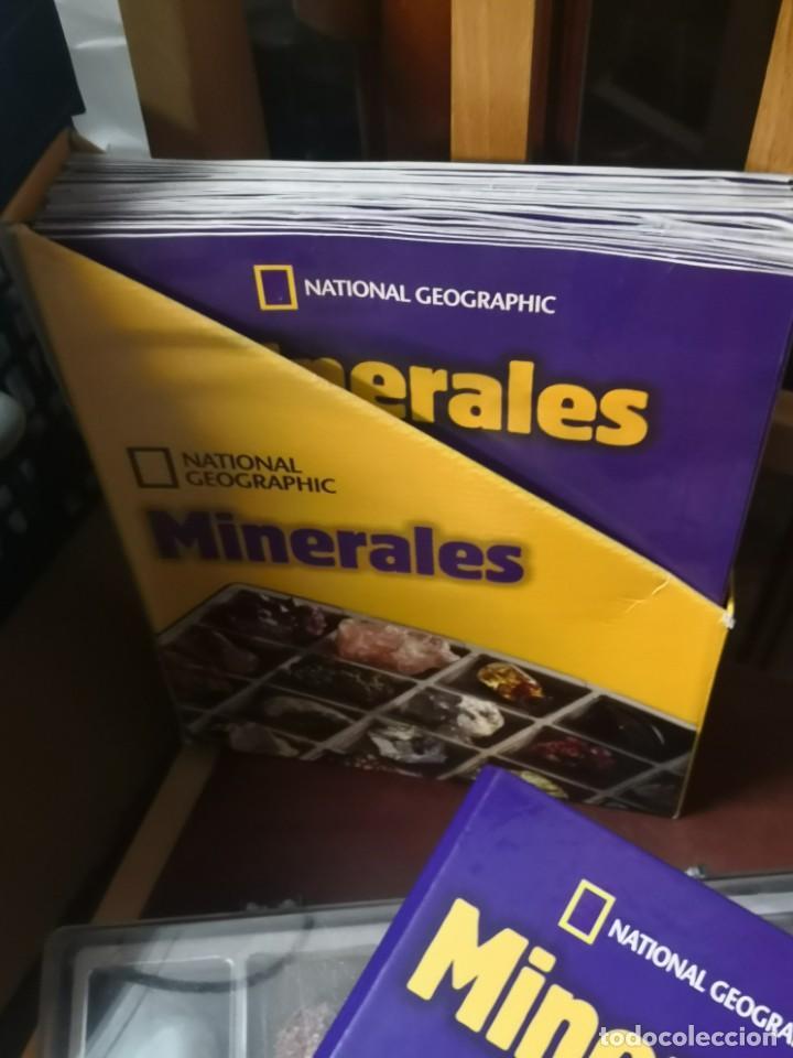Coleccionismo de minerales: coleccion completa 40 minerales con facciculos Y carpeta NATIONAL GEOGRAPHIC - Foto 2 - 197525537