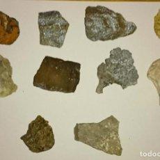 Coleccionismo de minerales: LOTE MINERALES. Lote 198095292
