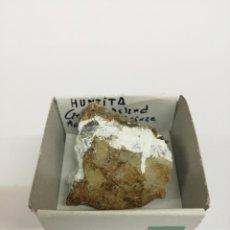 Coleccionismo de minerales: HUNTITA - MINERAL. EN CAJA 4X4. Lote 201893670