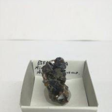 Coleccionismo de minerales: ESFALERITA Y MARCASITA- MINERAL. EN CAJA 4X4 CM. Lote 202986116