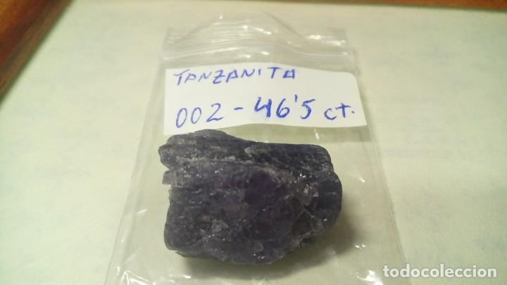 Coleccionismo de minerales: TANZANITA EN BRUTO ESPÉCIMEN #002 - 46.50 CTS - Foto 7 - 203377570