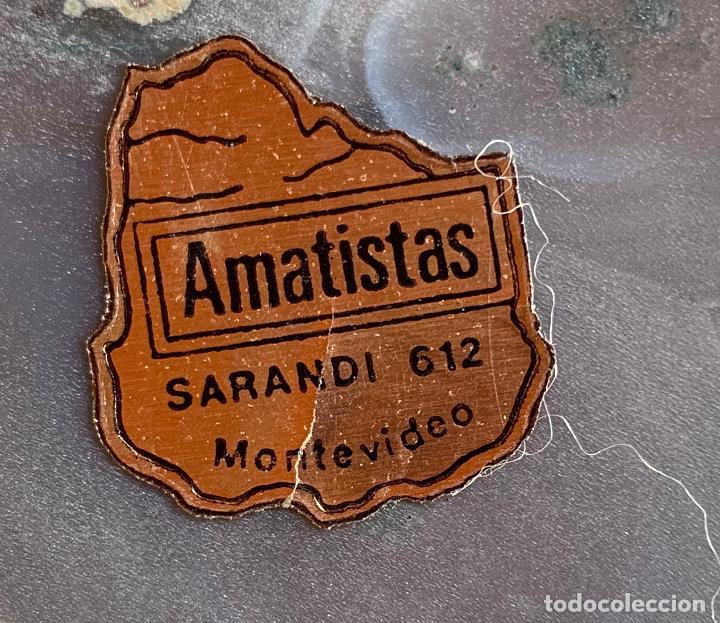 Coleccionismo de minerales: DOS PIEDRAS AMATISTA MONTEVIDEO Y GEODA . BUEN TAMAÑO . - Foto 3 - 204024018