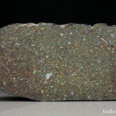 Coleccionismo de minerales: REBANADA CONDRITA CARBONACEA CV3. Lote 204728030