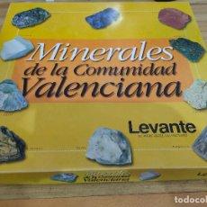 Coleccionismo de minerales: COLECCIÓN MINERALES DE LA COMUNIDAD VALENCIA COMPLETA (60 PIEDRAS PRECINTADAS CON SUS FICHAS). Lote 206189740
