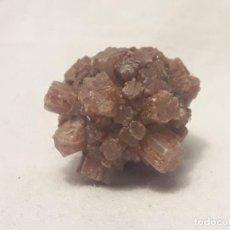 Coleccionismo de minerales: MAGNIFICA PIEZA DE COLECCIÓN ARAGONITO PIÑA IMÓN GUADALAJARA, CASTILLA-LA MANCHA 3X3CM. Lote 206243026