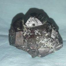 Coleccionismo de minerales: MAGNIFICA PIEZA DE COLECCIÓN MACLA DE PIRITA AMBASAGUAS LA RIOJA 6.5CM. Lote 206244880