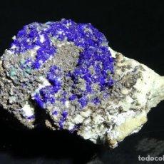 Coleccionismo de minerales: (006) MINERALES. AZURITA. LAURION, GRECIA.. Lote 207007592