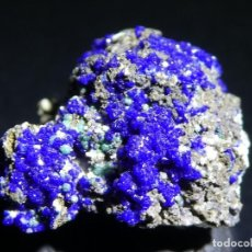 Coleccionismo de minerales: (046) MINERALES. AZURITA. LAURION, GRECIA.. Lote 207008170