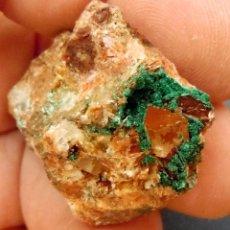 Colecionismo de minerais: BROCHANTITA-BOU-AZZER-MARRUECOS X-550. Lote 207105968