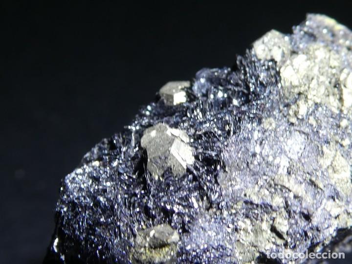 Coleccionismo de minerales: (059) MINERALES. PIRITA SOBRE HEMATITES, ELBA, ITALIA. - Foto 4 - 207118540
