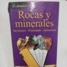 Coleccionismo de minerales: EL ABANICO ROCAS Y MINERALES. Lote 228011370