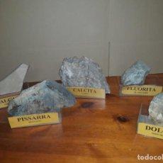 Coleccionismo de minerales: ROCAS DE CATALUNYA, COLECCIÓN 32 PIEZAS GRANDES. Lote 210396710