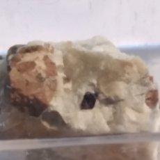 Coleccionismo de minerales: MINERAL DE CIRCON CRISTALIZADO. ITALIA.. Lote 211265411