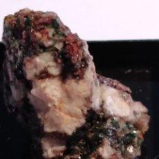 Coleccionismo de minerales: MINERAL DE LIBETHENITA CRISTALIZADA. PORTUGAL.. Lote 211267557