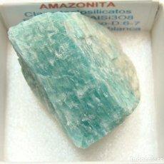 Coleccionismo de minerales: AMAZONITA. Lote 212129378