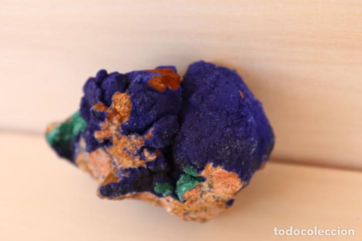 Coleccionismo de minerales: MINERALES AZURITA CON MALAQUITA N2 - Foto 2 - 213790885