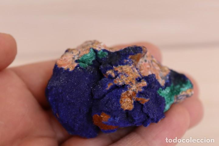 Coleccionismo de minerales: MINERALES AZURITA CON MALAQUITA N2 - Foto 5 - 213790885