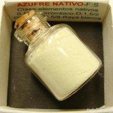 Coleccionismo de minerales: AZUFRE NATIVO. Lote 213912538