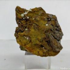 Coleccionismo de minerales: CARBONATO FLUORAPATITO- MINERAL. Lote 213931101