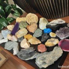 Coleccionismo de minerales: COLECCION DE MINERALES MUY BONITA. Lote 217064148